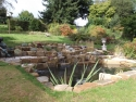 pond construction Surrey